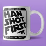 Han Shot First - kubek