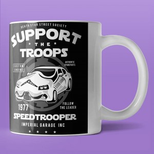 Support Our Troops - kubek