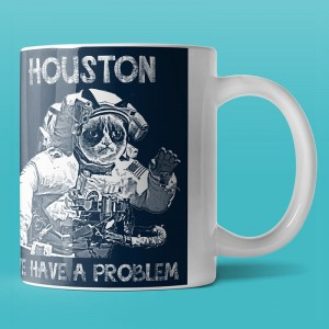 Houston we have a problem - kubek