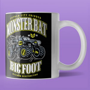 Monster Bat Big Foot - kubek