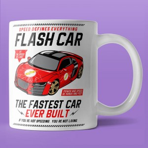 Flash Car - kubek