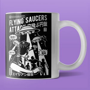 Flying Saucers Attack - kubek
